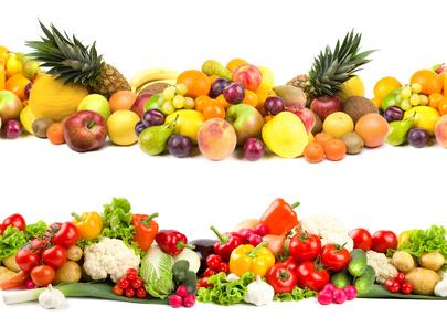 Obst und Gemüse - Diät und abnehmen