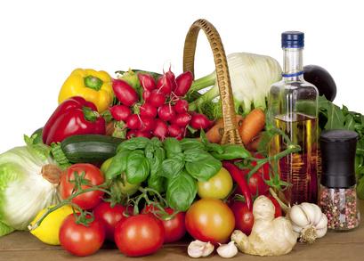 Abnehmen mit frischem Gemüse und Olivenöl: die Mittelmeer Diät