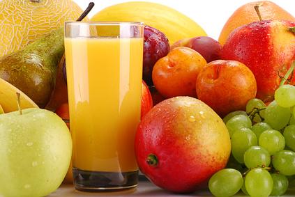 Früchte sind gesund - aber auch reich an Kalorien durch Fruchtzucker