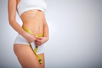 erfolgreich abnehmen am Bauch