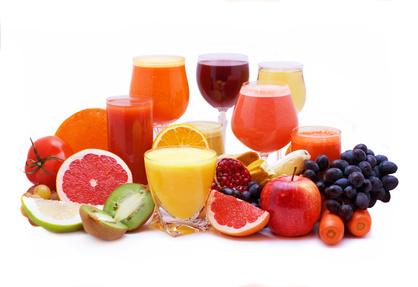 Fruchtsaft abnehmen