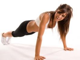 Fitness Übungen für zu Hause