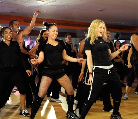 Madonna und Nicole Winhoffer
