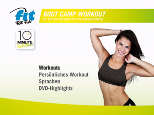 Fit for Fun 10 Minute Solution Boot Camp Workout
