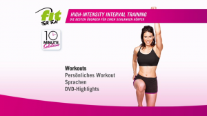 Fit for Fun 10 Minute Solution High Intensity Interval Training