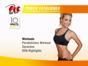 Fit for Fun 10 Minute Solution Power Fatburner