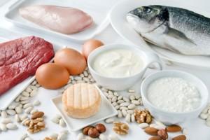 Lebensmittel mit Eiweiß bei der 5:2 Diät