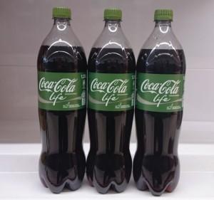 Coca Cola Life mit Stevia