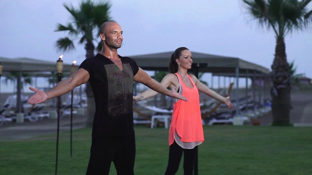 Workouts mit Detlef D! Soost und Kate Hall