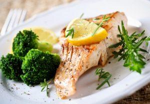 Mindestens einmal pro Woche Fisch essen