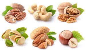 Oft Nüsse knabbern bei der MIND Diät